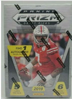 2019 Prizm Draft Picks Football Blaster