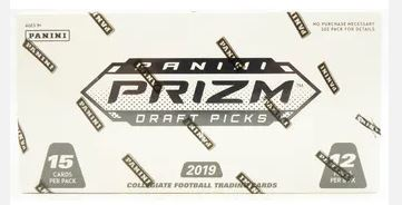 2019 Panini Prizm Draft Picks Football Multi-Pack Jumbo Box