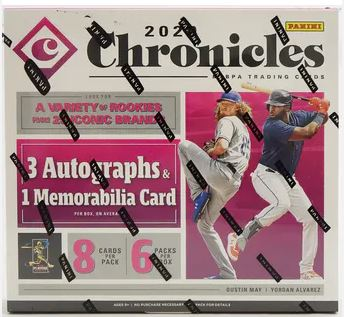1 Box Chronicles Baseball Division Draft #27