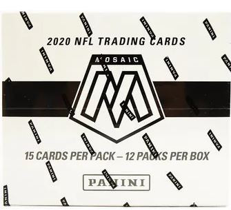 2020 Panini Mosaic Football Multi/Cello Pack Box Draft #14