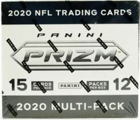 2020 Panini Prizm Football Cello/Multi Pack Box