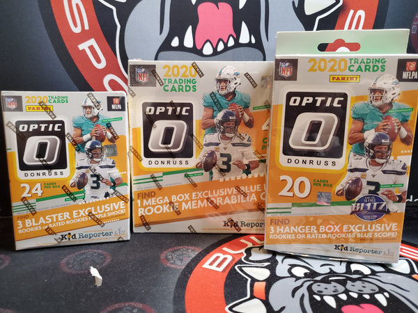 2020 Optic 3 Box Division Draft 1 Mega, 1 Blaster, 1 Hanger #21