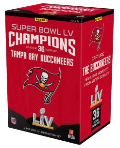 2021 Panini Tampa Bay Buccaneers Super Bowl LV Champions Box Set Football Cards
