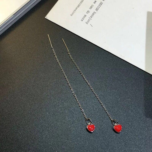 Sets of 5 Red Heart Jewelry