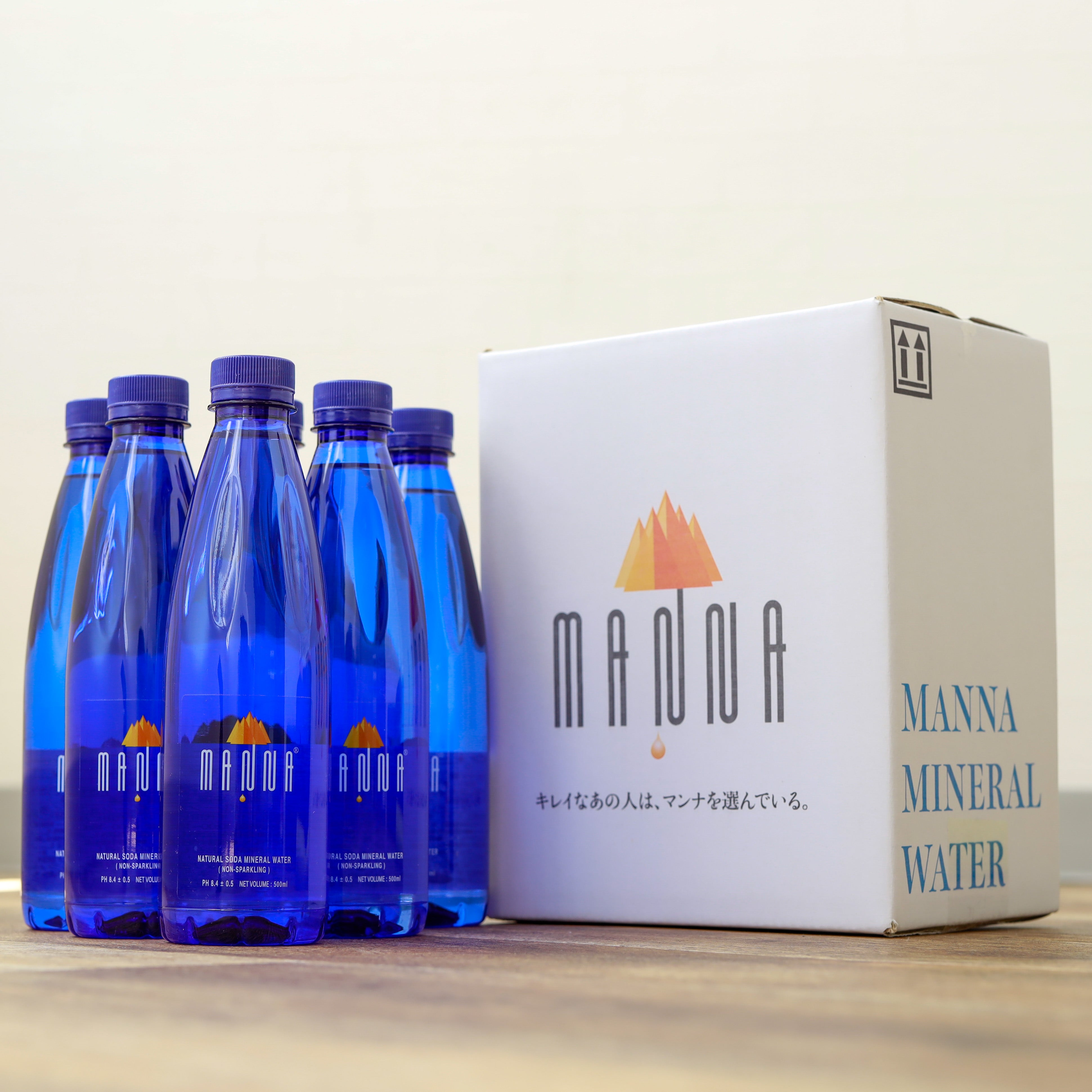 [Trial set] Mineral water 500ml x 6 [Free shipping]