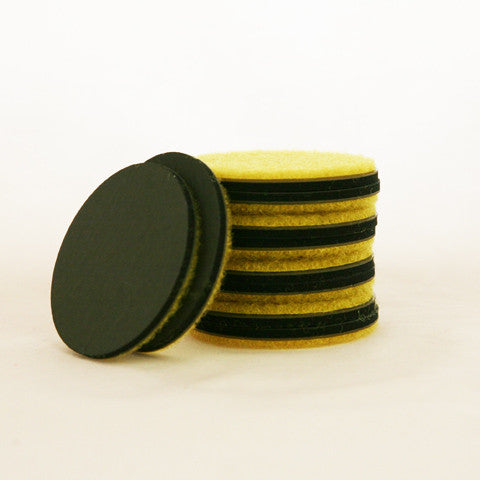 Yellow Pads (velcro) - EcoMaster