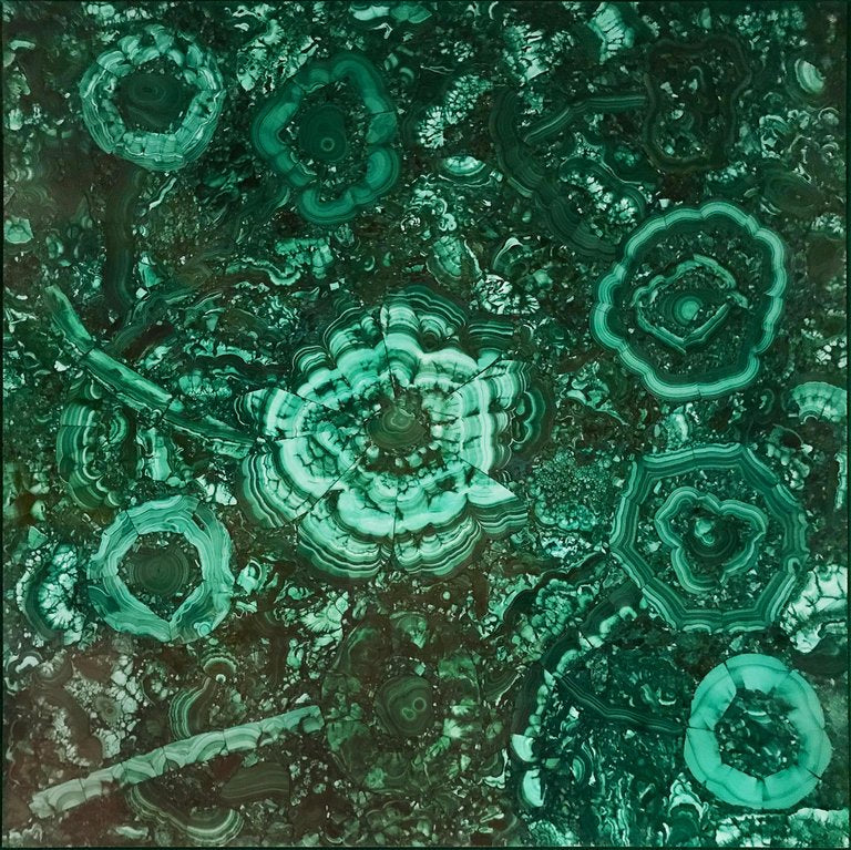 Malachite Gemstone Artwork