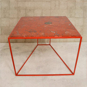 Red Jasper Gemstone Table