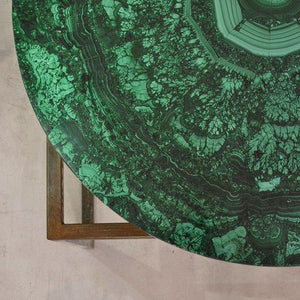 Malachite Gemstone Table