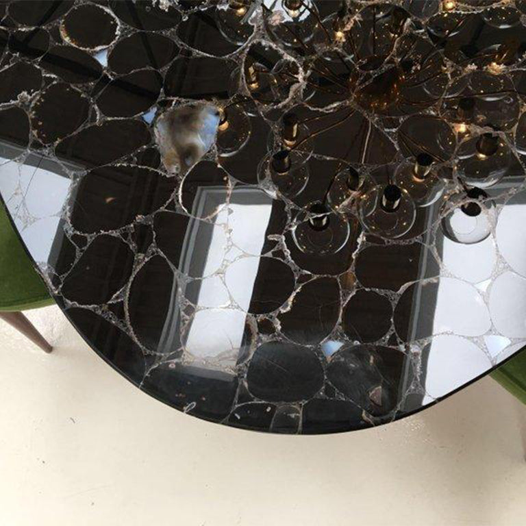 Obsidian Gemstone Dining Table