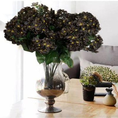 Artificial Hydrangeas, Artificial Flower Decoration, Artificial Hydrangeas, Faux Hydrangea Arrangement, Hydrangea Fake Flowers#color_parent