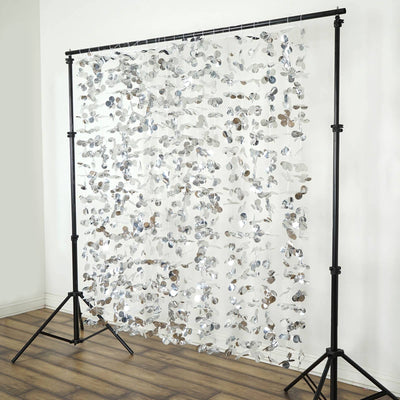 Foil Backdrop, Foil Curtain Backdrop, Foil Background, Hanging Flower Backdrop, Photography Background#color_parent