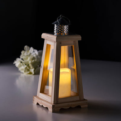 wood lantern centerpieces, wooden candle lanterns, 	 wooden lantern decor, floor lanterns, wooden hanging lantern#color_natural