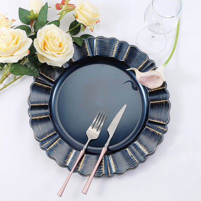 Charger Plates, Round Charger Plates, Plastic Charger Plates, decorative charger plates, dinner chargers#color_parent