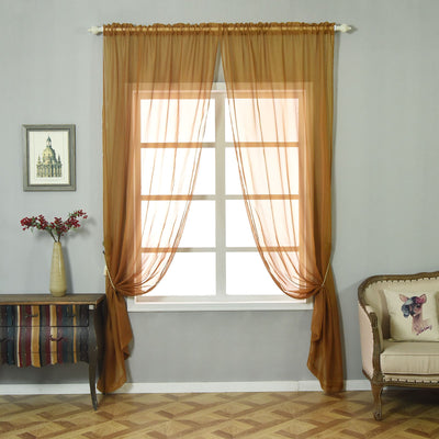 Organza Curtains, Sheer Drapes, Sheer Window Curtains, Sheer Curtain Panels, Sheer Window Treatments#color_parent