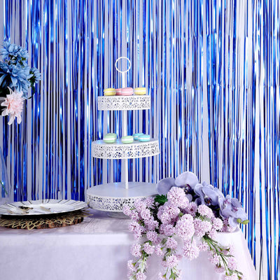 Foil Curtain, Fringe Curtains, Metallic Curtains, Fringe Doorway Curtain, Foil Backdrop#color_parent