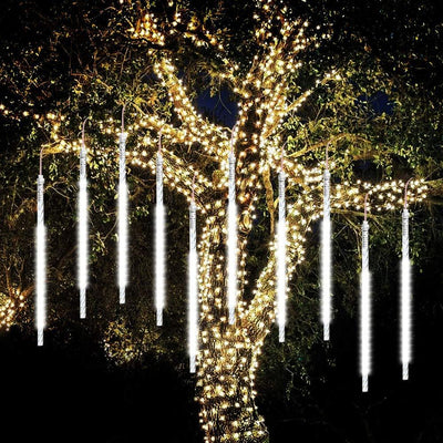 Outdoor Icicle Lights, Dripping Icicle Christmas Lights, Dripping Icicle Lights, Drippy Lights, Cascading Christmas Lights#color_clear