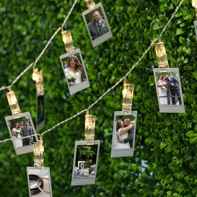 Photo Clip String Lights, Led Photo Clip String Lights, Photo Clip Lights, Fairy Lights With Photo Clips, Photo Clip String#color_warm-white