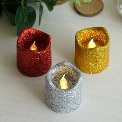 Glitter Candles, Led Votive Candles, Flameless Votive Candles, Battery Operated Votive Candles, Flameless Led Candles#color_parent