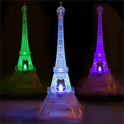 Light Up Eiffel Tower, Eiffel Tower Decor, Eiffel Tower Table Decor, Led Lights For Centerpieces, Eiffel Tower Room Decor#color_assorted
