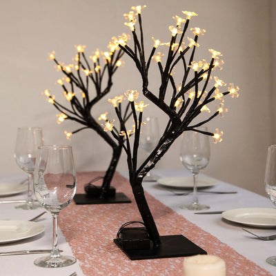 Led Cherry Blossom Tree, Lighted Tree Decor, Artificial Cherry Blossom Tree, Light Up Tree, Cherry Blossom Centerpieces#color_warm-white