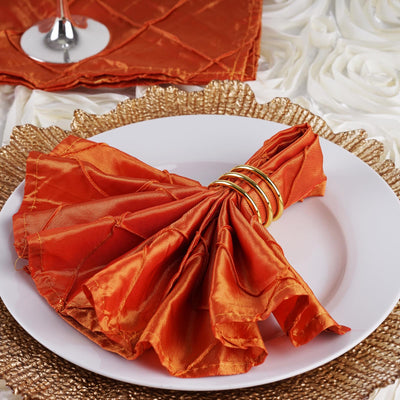 cloth table napkins, pintuck napkins, satin napkins, cloth dinner napkins, decorative napkins#color_parent