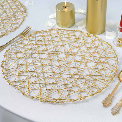 Woven Placemats, metal placemats, round placemats, Modern Placemats, Dining Table Placemats#color_parent