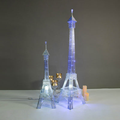 Light Up Eiffel Tower, Eiffel Tower Decor, Eiffel Tower Centerpieces, Led Lights For Centerpieces, Led Column Lights#size_parent