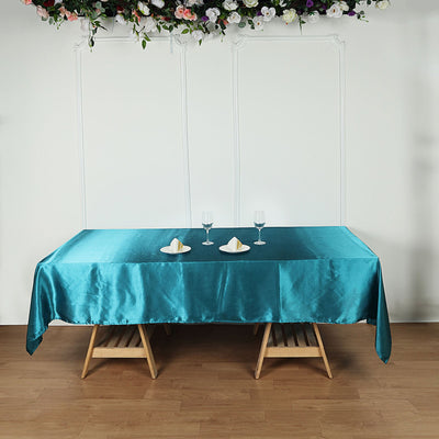 rectangle tablecloth, satin tablecloth, fabric rectangle tablecloth, dining table cloth, rectangle table cover#color_parent