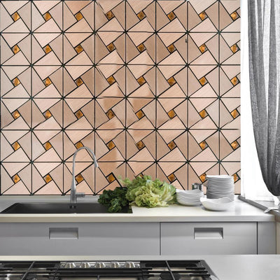kitchen backsplash tile, stick on wall tiles, peel and stick backsplash, 3D wall tiles, mosaic mirror tiles#color_parent