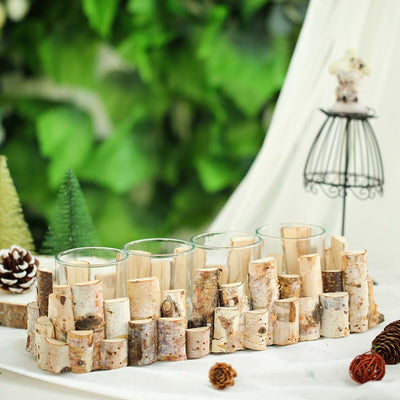 Natural Wood Candle Holder, Wooden Candle Holders, Rustic Wood Candle Holders, Wooden Tea Light Holder, Wood Votive Candle Holders#color_parent