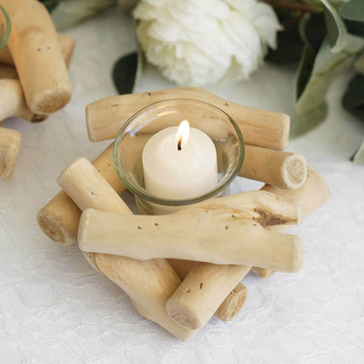 driftwood candle centerpiece, Wooden Candle Holders, driftwood candle holder, Decorative Candle Holder, Rustic Wood Candle Holders#color_parent