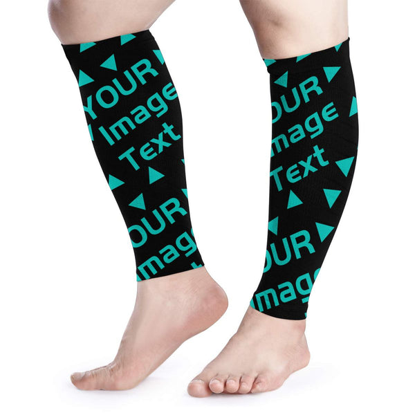 Custom you own Compression Calf Sleeves (1 Pair)