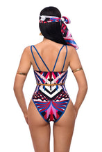 Load image into Gallery viewer, New Totem Print Triangle One-piece Swimsuit