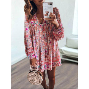 Printed Skirt Dress