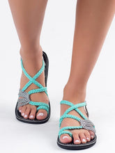 Load image into Gallery viewer, Beach Flat Sandal Shoes For Women