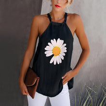Load image into Gallery viewer, Summer Tops Women's Loose Printed Small Vest Strap T-shirt