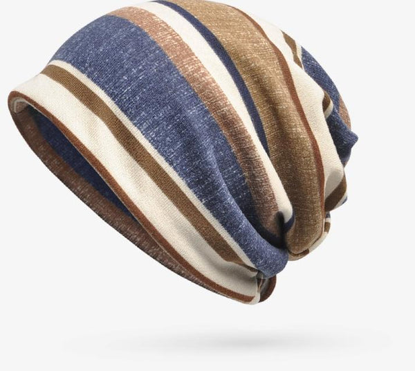 Women Bohemia Stripe Hat Accessories