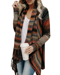 2018 Long Sleeve Plus Size Irregular Sweater