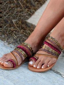 Beach Flat Sandals For Women