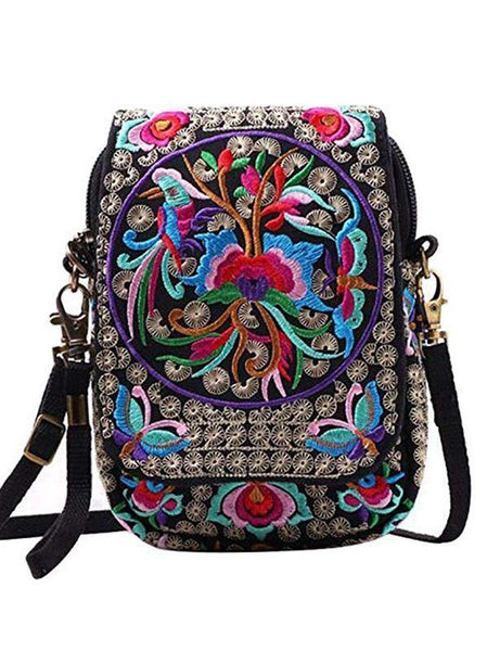 Ethnic Style Characteristic Embroidery Mini Bag