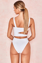 Load image into Gallery viewer, Sexy Cross Bandage One Piece Hollow Out Swimsuit