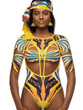 Load image into Gallery viewer, Digital Printed Sexy Totem One-piece Swimsuit