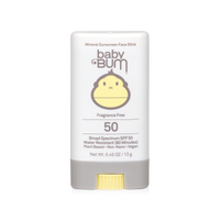 Baby Bum Mineral SPF 50 Sunscreen Face Stick - Fragrance Free