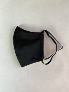 Black Satin Elegant Face Mask