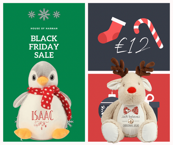 Personalised Christmas plush toy