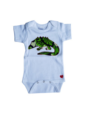 See Ya Alligator Appliqué Bodysuit