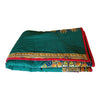 Green Dashiki Reversible Baby Blanket