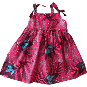 Jada Big Flowers Dress