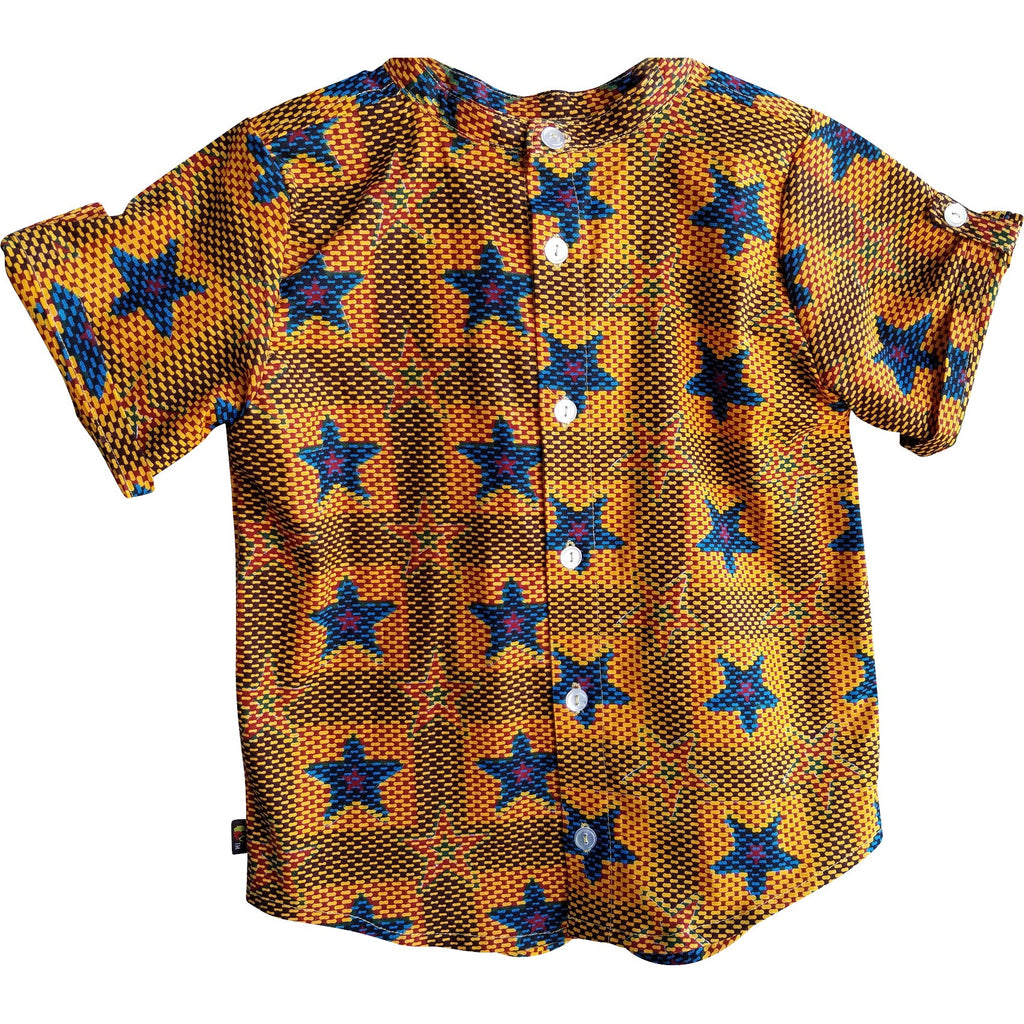 Kwabena Super Star Short Sleeve  Shirt